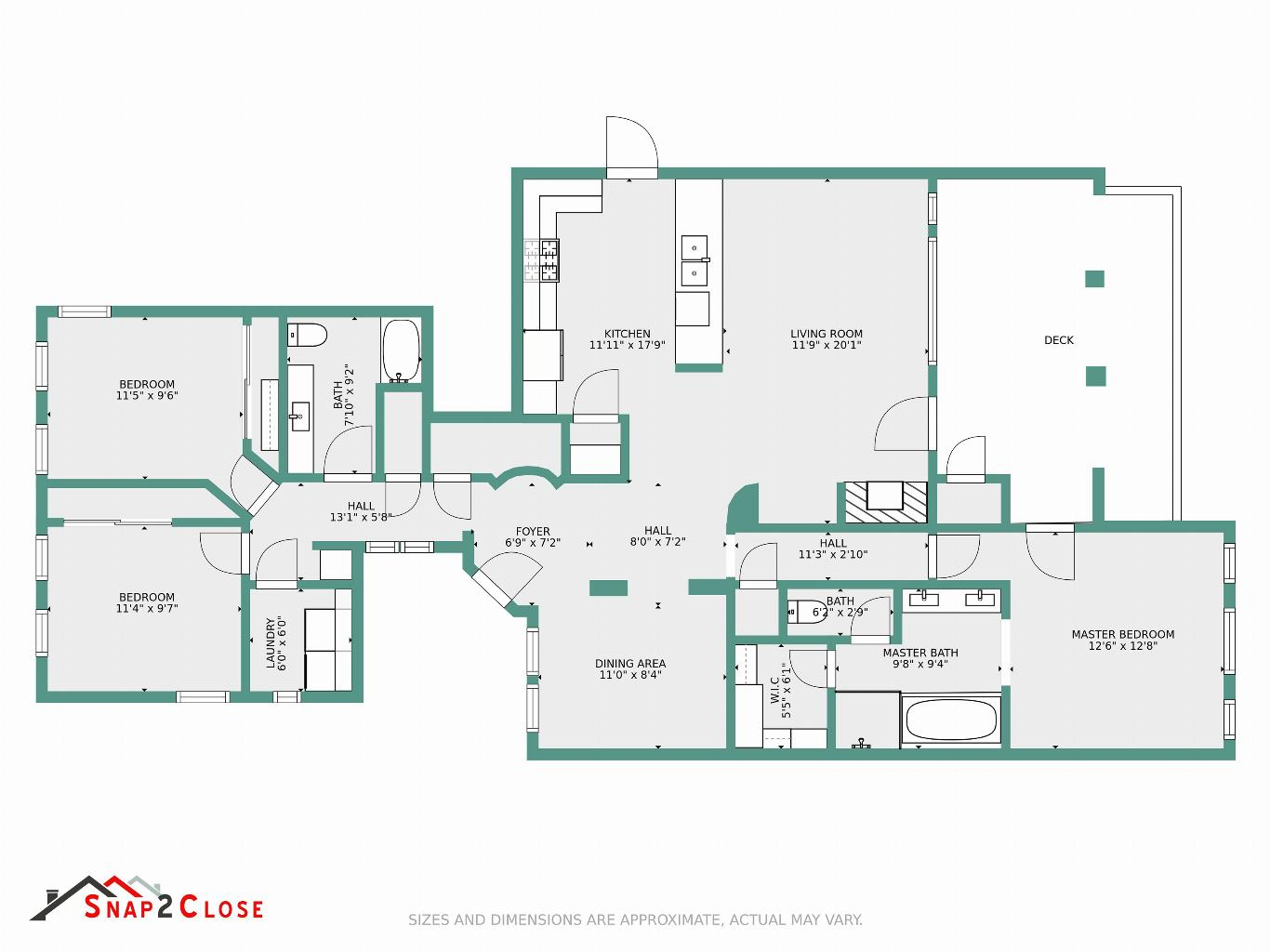 Interactive Floor Plans Snap2close Real Estate Photography